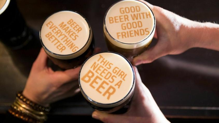 Pour la bière