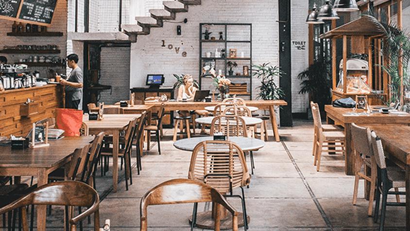 Restaurants, bars, cafés